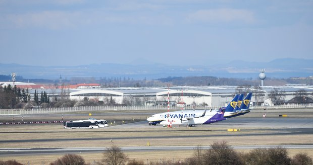 Pražské letiště.
