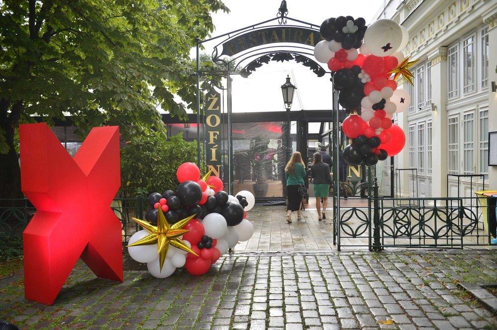 Letní tančírna Reflexu na pražském Žofíně