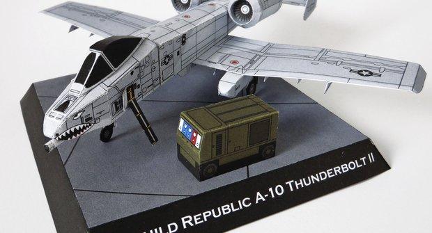Vojenská technika: Fairchild Republic A-10 Thunderbolt II