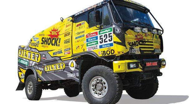 970 koní: Nejmladší dakarský kamioňák