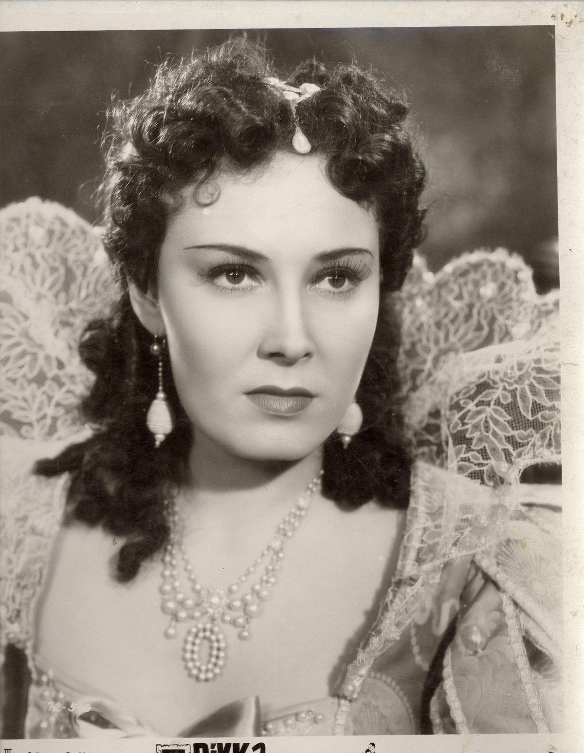 Lída Baarová ve svém nejslavnějším filmu Dívka v modrém