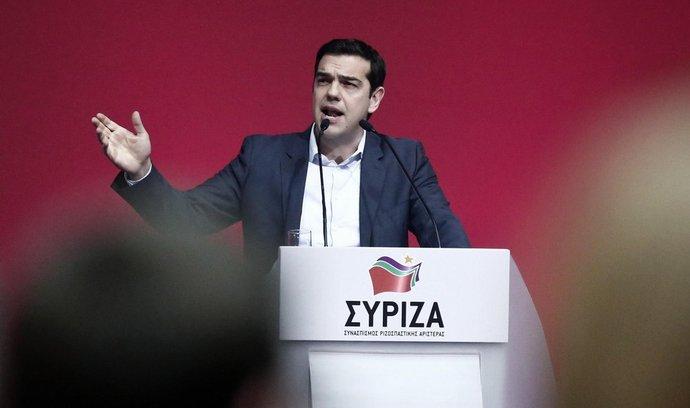 Lídr řecké strany Syriza a současný řecký premiér Alexis Tsipras