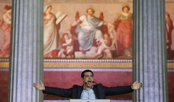 Lídr řecké strany Syriza Alexis Tsipras