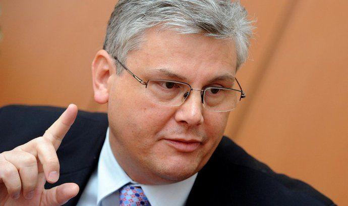 Lídr pražské ČSSDMiloslav Ludvík (na archivním snímku z 28. února 2012)