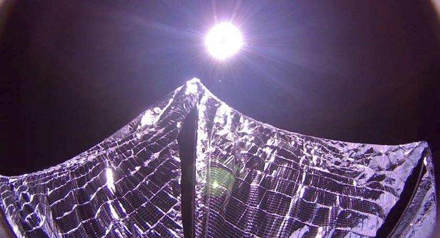 Solární plachetnice: Doletí k nejbližší hvězdné soustavě?