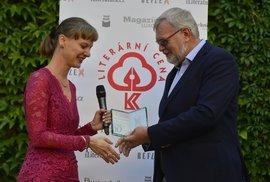 Amálie a její chlapci: Literární cenu Reflexu získala za svou novelu básnířka Kateřina Rudčenková