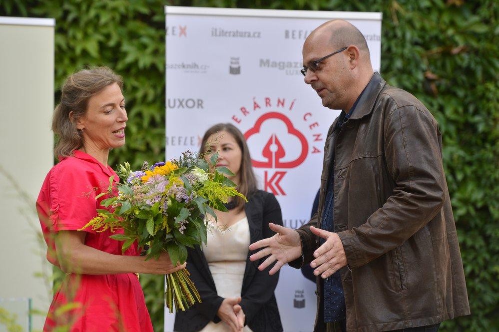 Předávání Literární ceny Knižního klubu a Literární ceny Reflexu 2021