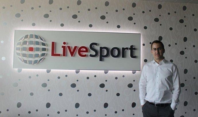 Martin Hájek, jednatel společnosti LiveSport