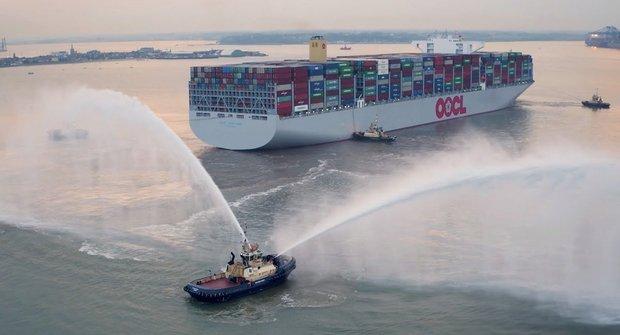 Největší kontejnerová loď na světě