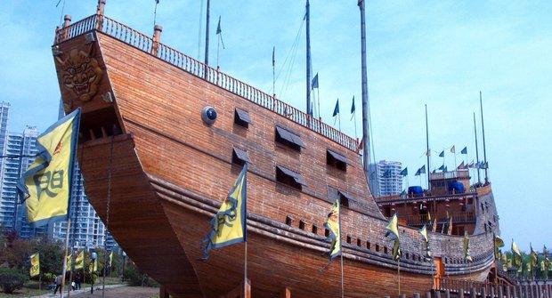 Král sedmi moří: Pohádková flotila čínského admirála