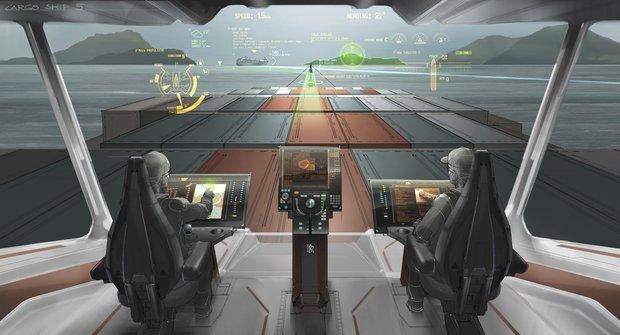 Loď budoucnosti: Hodně jiný kapitánský můstek