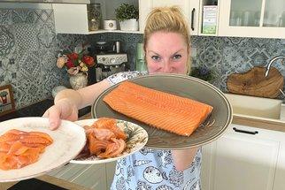 Jak zpracovat celý filet lososa na tři různé pokrmy