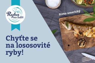Nejenom pstruh nebo siven. Lososovité ryby z českých vod jsou ve zdravé kuchyni sázkou na jistotu