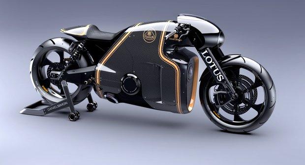 Lotus C-01: Rychle a stylově