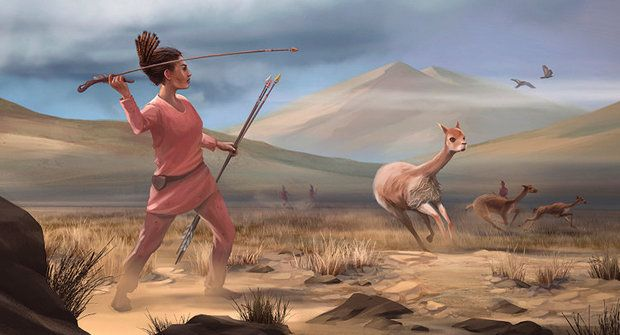 Nečekaný objev z And: Lovkyně lam mění pohled na pravěké společnosti