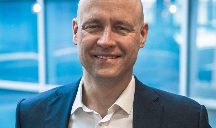 Ředitel divize pro firemní zákazníky T-Mobile Luboš Lukasík.