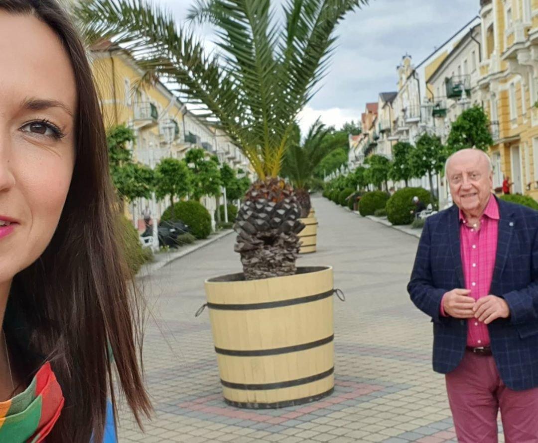 Lucie Gelemová a Felix Slováček oslavili šesté výročí