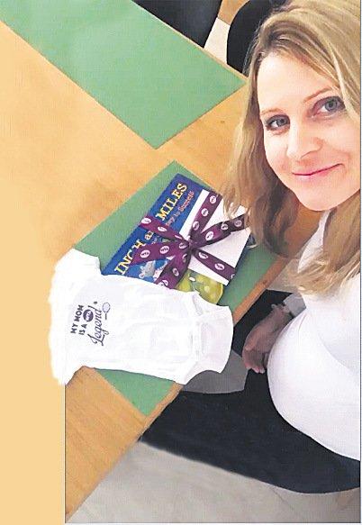 Lucie Šafářová si těhotenství náramně užívá.