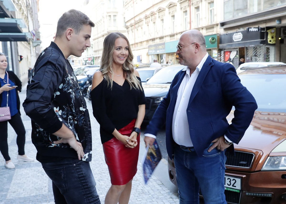 Kapelu Melidoca přišel podpořit také hitmaker Michal David