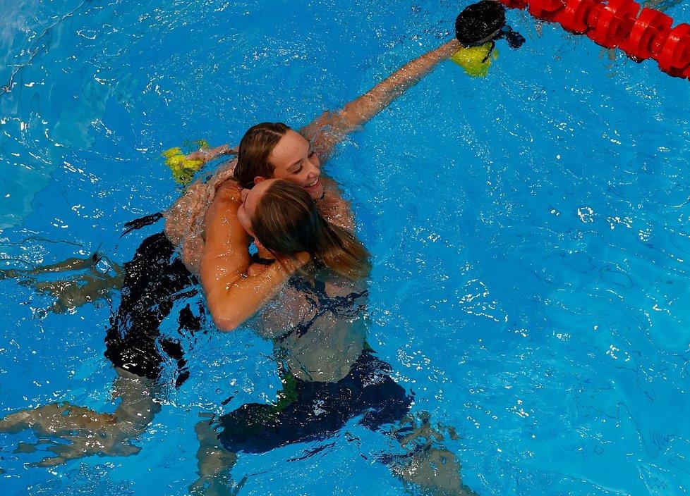 Australská plavkyně a vítězka olympiády Madison Wilsonová se nakazila covidem. I přes dvojí očkování.