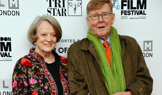 Maggie Smithová a Alan Bennett