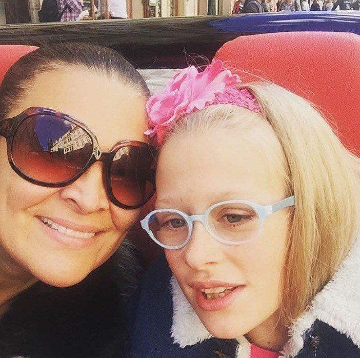 Mahulena Bočanová s dcerou Márinkou