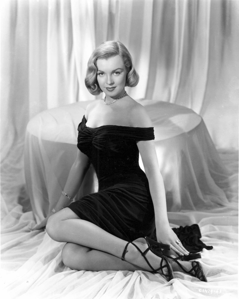 Marilyn Monroe, rok 1950