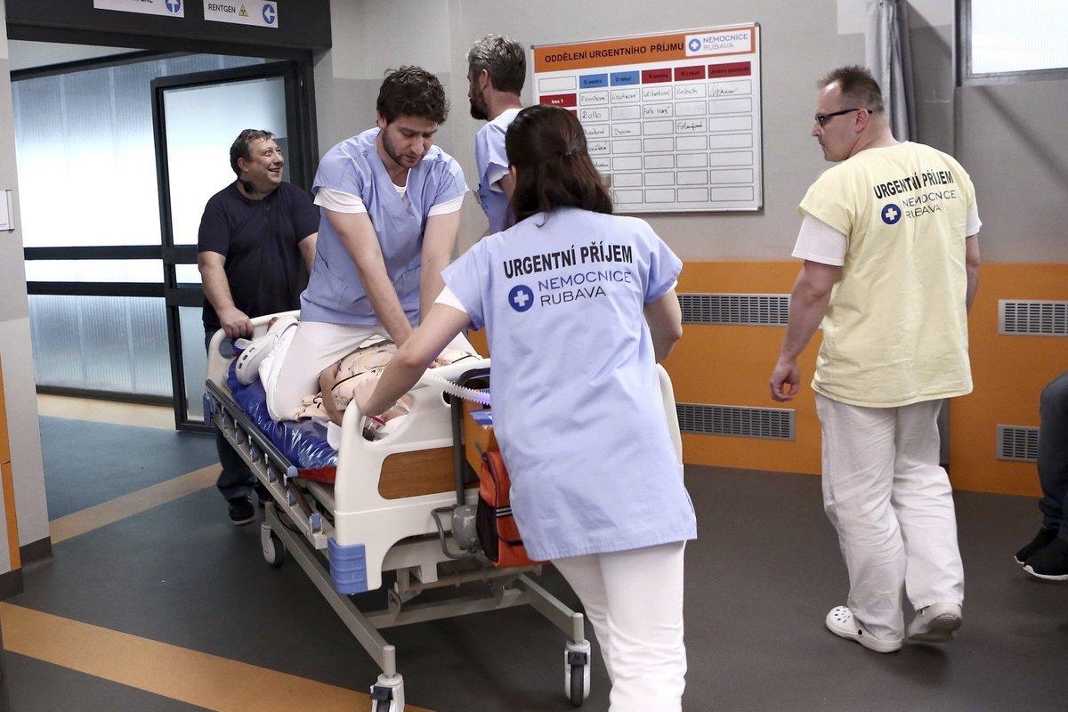 V nemocnici Rubava není o adrenalinové situace nouze.