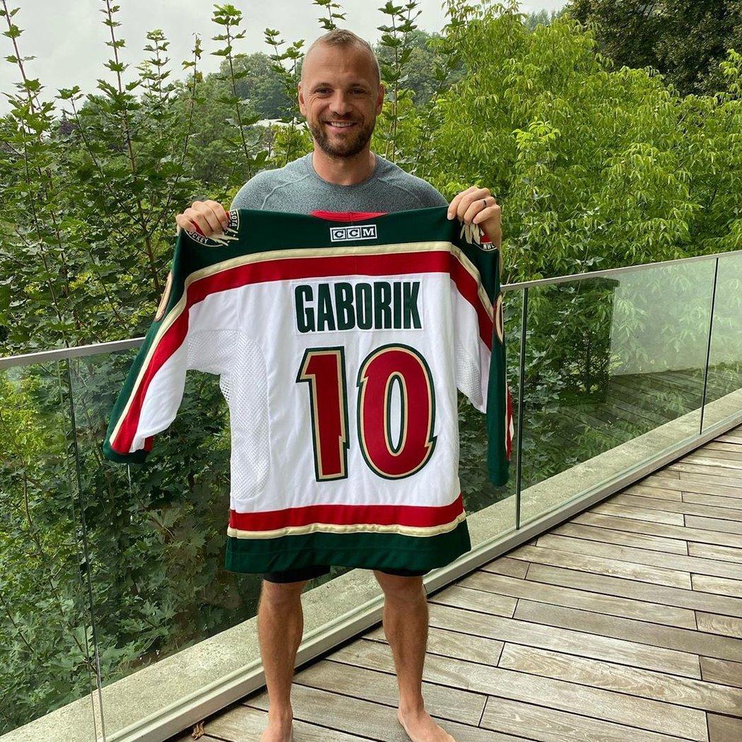 Legendární slovenský hokejista Marián Gáborík