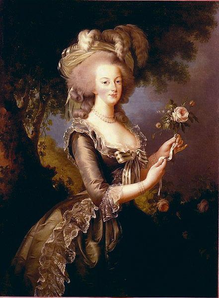 Marie Antoinetta byla známá svojí rozmazleností