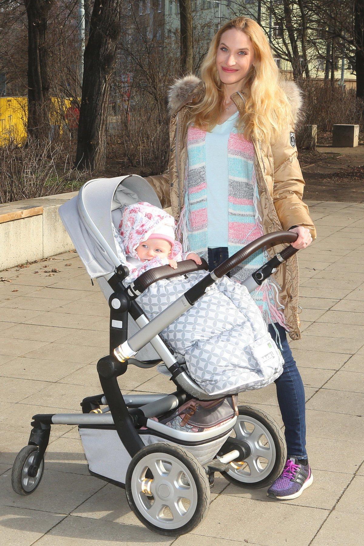 Marie Renčová se svou dcerou Sofií.