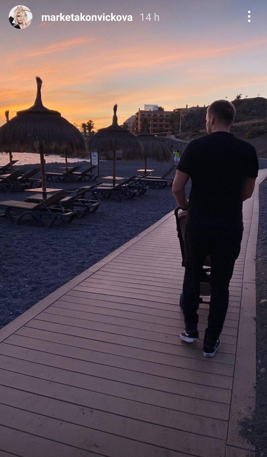 Markéta Konvičková vyrazila na dovolenou