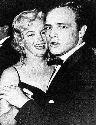 S Marilyn měl Marlon aférku hned několikrát.