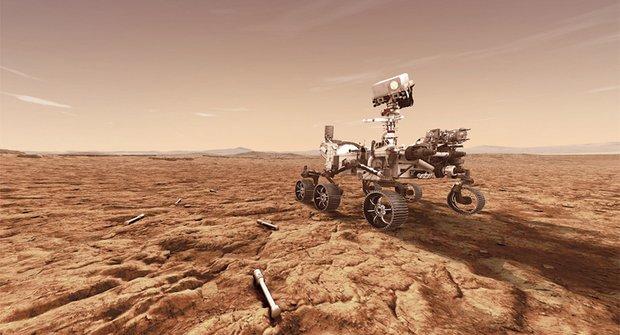Podařilo se odebrat kousek Marsu. Vzorky poletí na Zemi