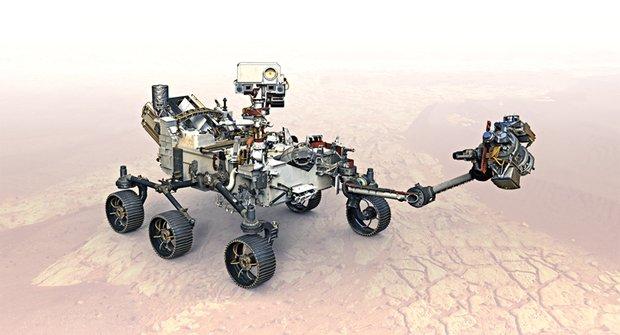 Perseverance poslouchá zvuky Marsu a pálí laserem