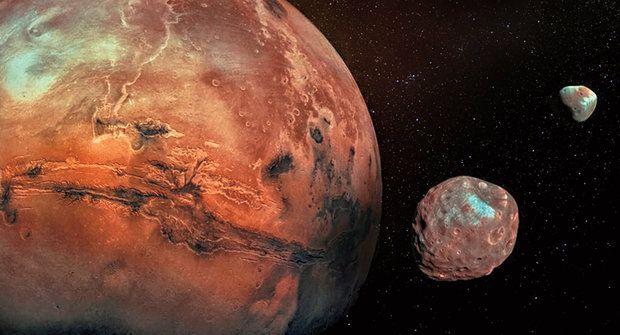 Záhadné měsíce Marsu: Fobos a Deimos sledovaly apokalypsu