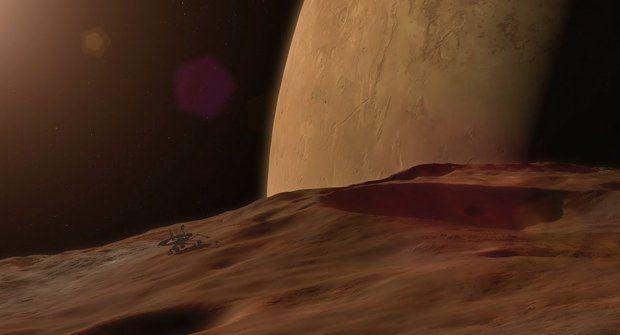 Marsovský měsíc Phobos je pod napětím