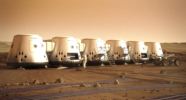 Jízdenka na Mars: Chcete bydlet na jiné planetě?
