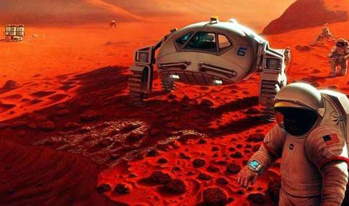 Cestu na Mars by mohla usnadnit recyklace moči astronautů. Ilustrační foto