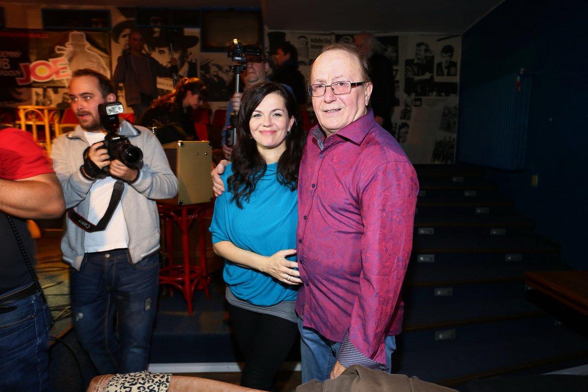 Petr Janda a jeho dcera Martina Jandová
