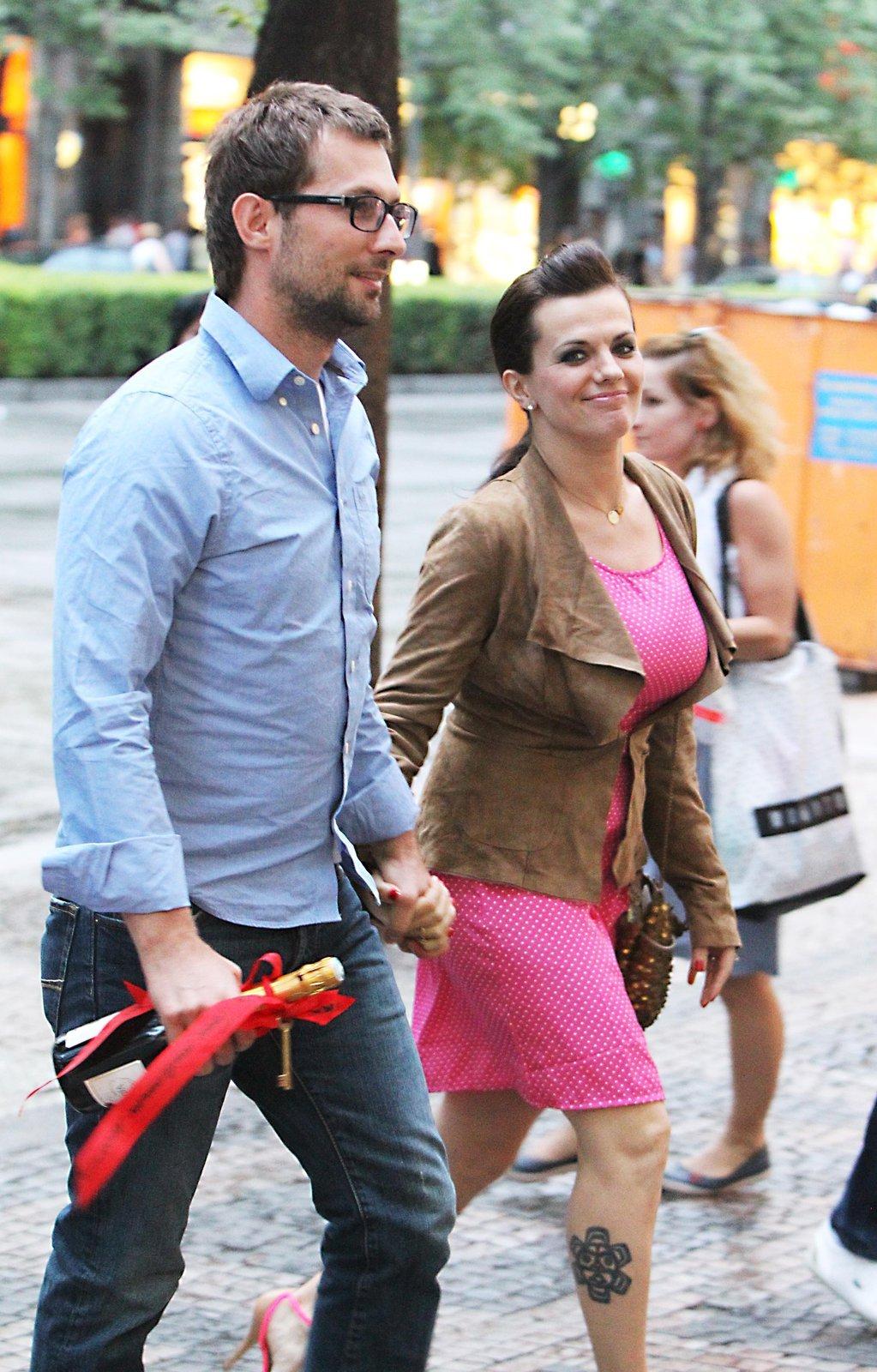 Mirek Verner a Marta Jandová se těší na miminko.