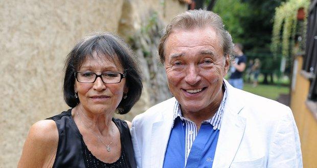 Marta Kubišová a Karel Gott