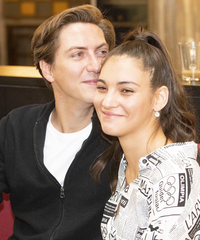 Martin se Sárou svoji zamilovanost dávali najevo i na tiskové konferenci.