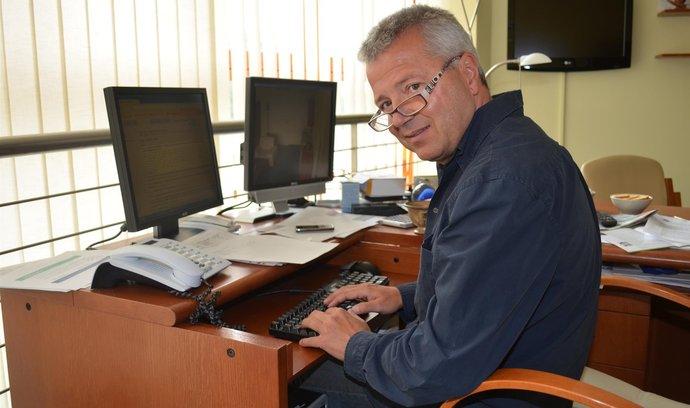 Šéf středočeké záchranky Martin Houdek