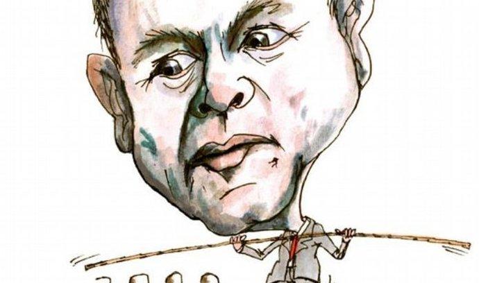 Martin Roman, karikatura