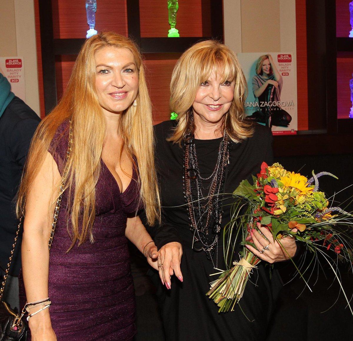 Na křest CD Hany Zagorové přišla i Martina Formanová.