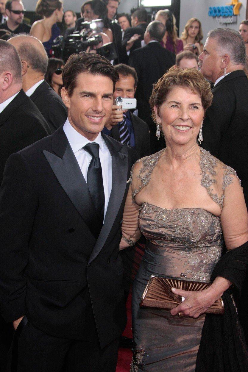 Zemřela matka Toma Cruise Mary Lee Mapother, scientologové pláčou.