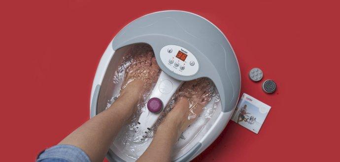 Recenze masážní vaničky Beurer FB 50: koupelový bůh, který je pro vaše nohy slast