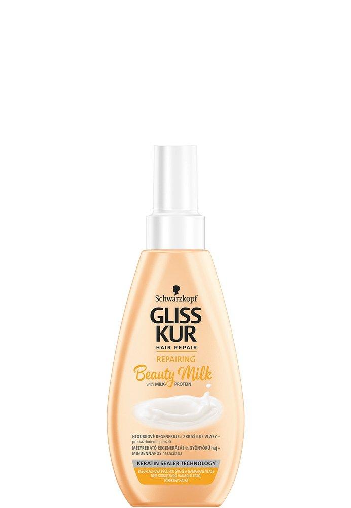Bezoplachová péče Repairing Beauty Milk, Gliss Kur, 129 Kč/150 Kč