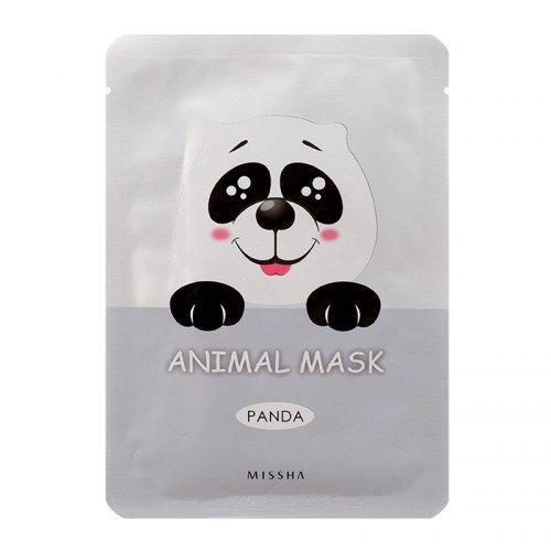 Bělící plátýnková maska Animal Mask Panda, MISSHA, 79 Kč, www.missha.cz